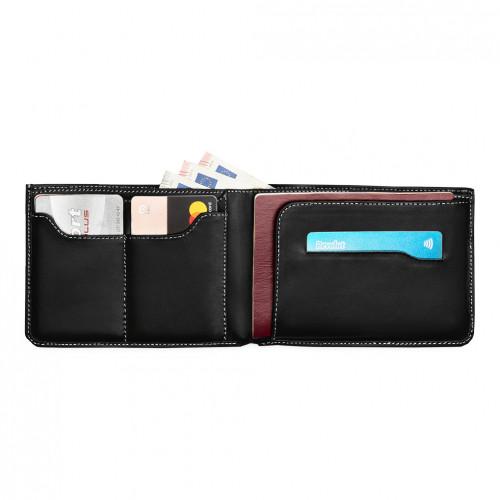 Travel Wallet - Czarny - Biały