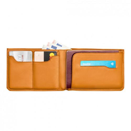 Travel Wallet - Cognac -...