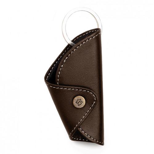 Key Jacket - Brown - White