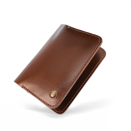 Daily Wallet - Chestnut Brown
