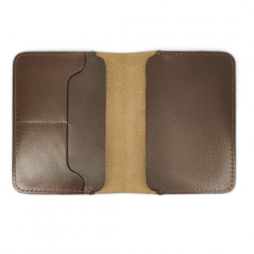 Daily Wallet - Chocolate Brown