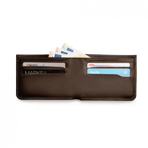 Urban Wallet - Brąz - Brąz