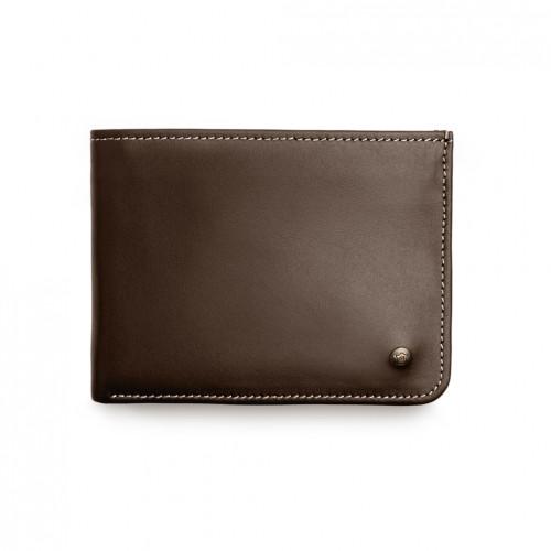 Urban Wallet - Brown - White