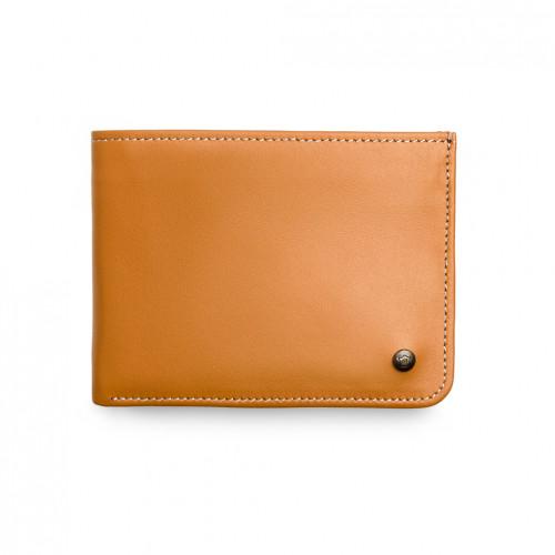 Urban Wallet - Cognac - White